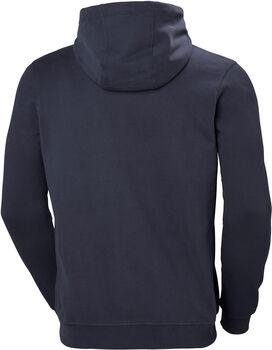 Helly Hansen HH Logo Hoodie férfi kapucnis felső Férfiak kék