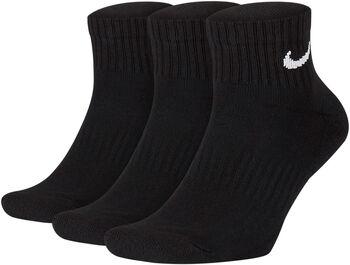 Nike Everyday Cushion Ankle sportzokni (3pár) fekete