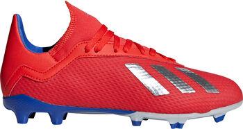 ADIDAS X 18.3 FG J gyerek focicipő piros