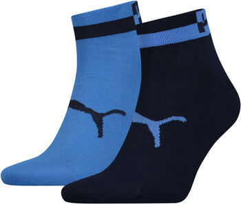 Puma Men Quarter 2P férfi zokni (2 db/csomag) Férfiak kék