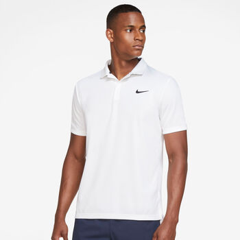 Nike Court Dri-FIT Victory férfi galléros póló Férfiak fehér