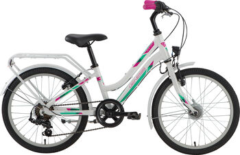 """GENESIS Zeta City 20"""" lány kerékpár fehér"""