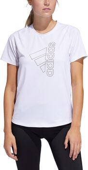 adidas TECH BOS TEE Nők fehér