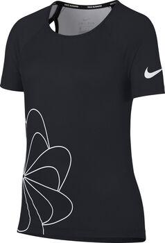 Nike  Nk Top SS Run Gx Lány fekete