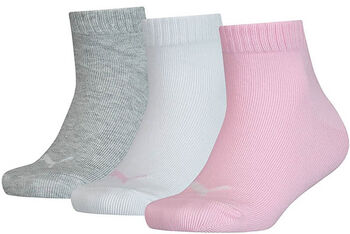 Puma Kids Quarter 3P gyerek zokni rózsaszín