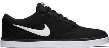 Nike SB Check Solarsoft Canvas szabadidőcipő Férfiak fekete