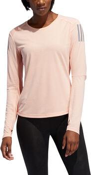 ADIDAS Own The Run LS női hosszúujjú futópóló Nők rózsaszín
