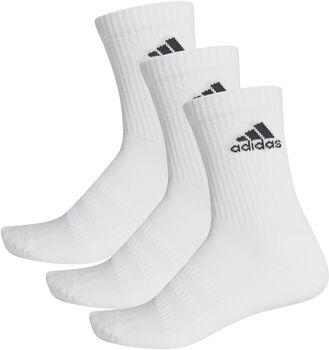 adidas CUSH CRW 3P zokni (3 pár) fehér