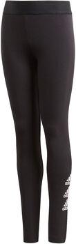 adidas  JG MH BOS TIGHTlány nadrág fekete