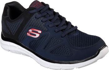 Skechers Satisfaction férfi fitneszcipő Férfiak kék