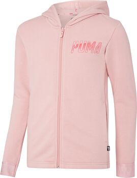 Puma Hooded Sweat Jacket lány kapucnis felső Nők rózsaszín