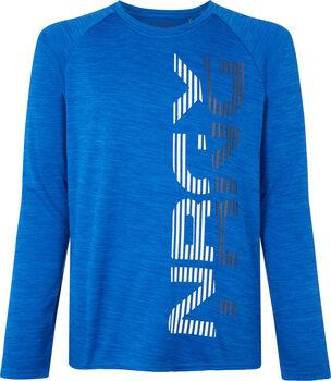 ENERGETICS Marten II fiú hosszú ujjú póló kék