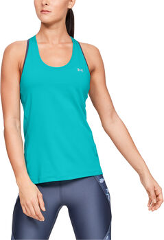 Under Armour HG Racer Tank női top Nők kék