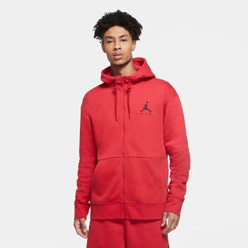 Nike Jordan Air Fleece férfi kapucnis felső Férfiak piros