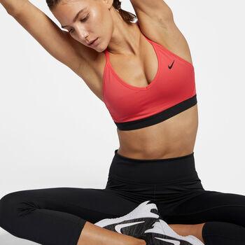 Nike Indy Light-Support sportmelltartó Nők narancssárga