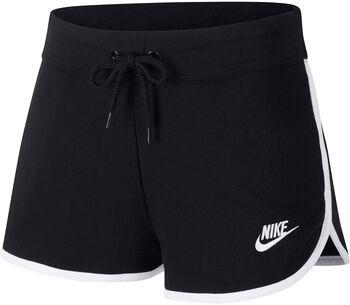 Nike Sportswear Heritage Fleece Shorts Nők fekete
