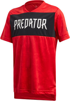 ADIDAS Predator Allover Print gyerek póló Fiú piros