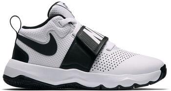 Nike Team Hustle D 8 BG gyerek kosárlabdacipő fehér