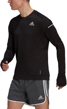 adidas COOLER LONGSLEE férfi futóing Férfiak fekete
