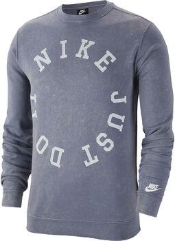 Nike Ce Crew Ft Wash férfi pulóver Férfiak kék