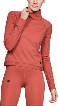 Under Armour RUSH™ ColdGear® női hosszúujjú felső Nők rózsaszín