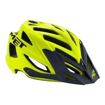 MET  Kerékpár sisakFahrrad-Helm Terra sárga