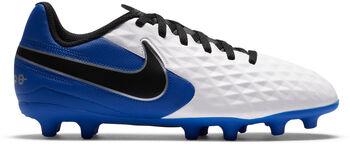 Nike  Legend 8 Club FG/MG Jrgyerek stoplis cipő Fiú fehér
