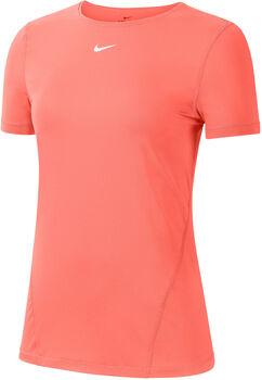 Nike Pro SS Mesh női póló Nők narancssárga