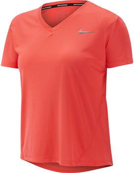 Nike Miler Running Top női futópóló Nők narancssárga