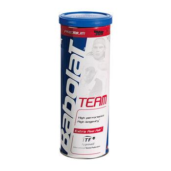 Babolat Team teniszlabda (3db/doboz) fehér