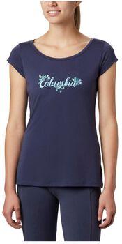 Columbia Shady Grove SS Tee női póló Nők kék
