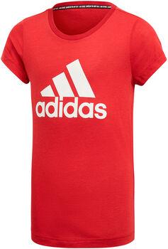 ADIDAS YG MH BOS TEE lány szabadidő póló piros