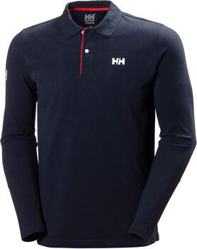 Helly Hansen Crew HH Classic férfi hosszú ujjú galléros póló Férfiak kék