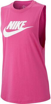 Nike Essential női ujjatlan felső Nők rózsaszín