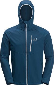 Jack Wolfskin Kanuka Point férfi softshell kabát Férfiak kék