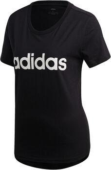 ADIDAS W Essential Linear Slim női póló Nők fekete
