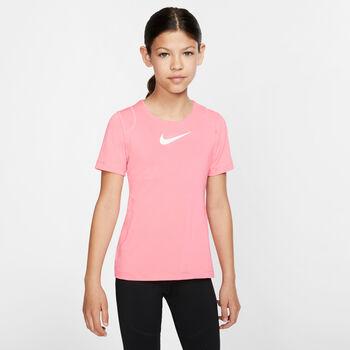 Nike Pro Top lány póló piros