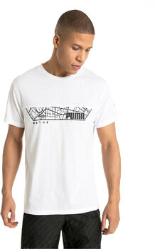 Puma N.R.G. Triblend Graphic férfi póló Férfiak fehér