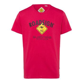 Roadsign Basic Logo Tee férfi póló Férfiak piros