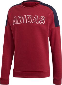 adidas M SID Sw FL férfi pulóver Férfiak piros