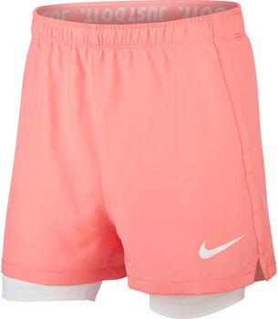 Nike Dri-FIT Big Kids' 2-in-1 lány rövidnadrág piros