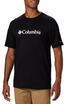 Columbia CSC Basic Logo SS férfi póló Férfiak fekete