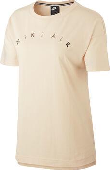 Nike Air Top SS Basic női póló Nők narancssárga