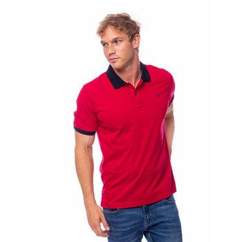 Heavy Tools Dalien férfi galléros póló Férfiak piros