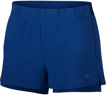 Nike Court Flex Tennis Shorts Nők kék