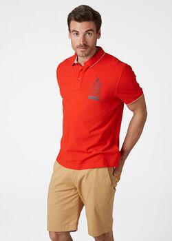 Helly Hansen Faerder Polo férfi galléros póló Férfiak piros