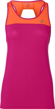 Asics LOOSE STRAPPY TANK női futófelső Nők rózsaszín