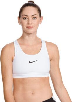 Nike Swoosh Medium Support sportmelltartó Nők fehér