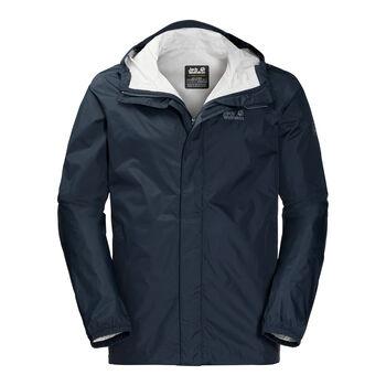Jack Wolfskin Cloudburst M férfi kapucnis outdoor kabát Férfiak kék