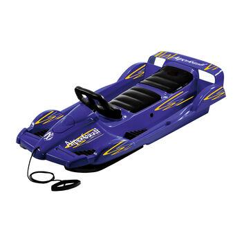 AlpenGaudi Double Race bob (szánkó) kék
